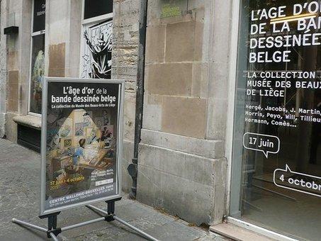 Olivier Grenson - L'exposition l'âge d'or de la Bande Dessinée belge | Romans régionaux BD Polars Histoire | Scoop.it