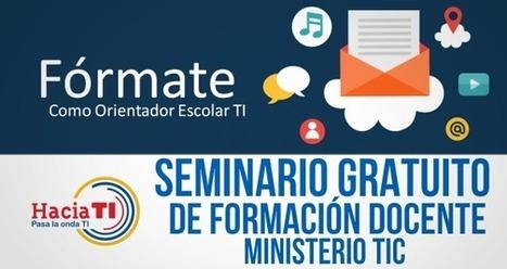 CONVOCATORIA PARA SEMINARIO GRATUITO DE FORMACION DOCENTE – MINISTERIO TIC | recomendados en Colombia | Scoop.it