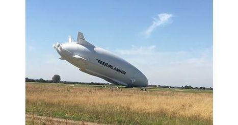 [Vidéo] Le deuxième vol de l'Airlander 10 se termine par un crash - L'Usine de l'Aéro | Aérostation, ballons et dirigeables | Scoop.it