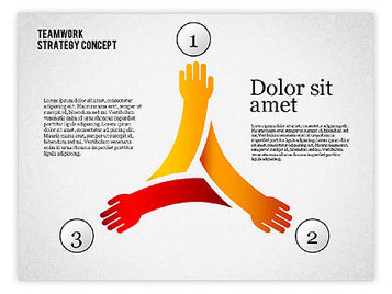 Teamwork Strategy Concept | PowerPoint Diagrams, Charts, and Shapes | Scoop.it