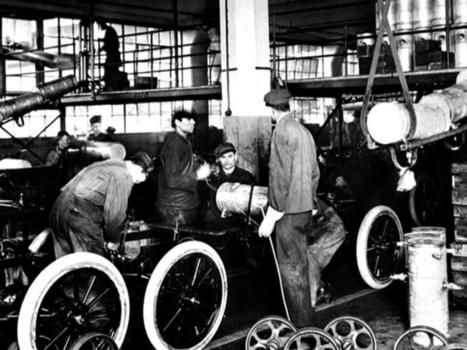 Henry Ford's assembly line: How it's still rolling along 100 years later | My Umbrella Cockatoo, TIKI | Scoop.it