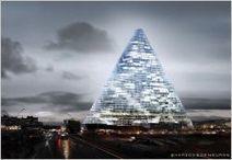 Avec la tour Triangle, la skyline française prend encore de la hauteur - Batiactu | Architecture, design & urbanisme | Scoop.it