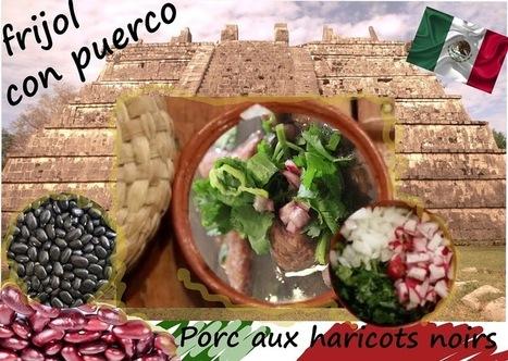 Recette de sauté de porc aux haricots noirs (cuisine Yucatan, Mexique) | Street food : la cuisine du monde de la rue | Scoop.it