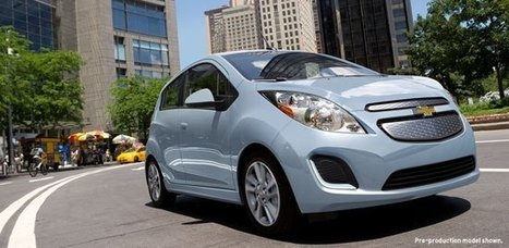 Chevy Spark EV Available For Rent At Hertz | Alphatech5 Energy Blog | Renewable Energy News | Scoop.it