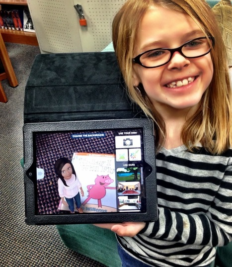The Library Voice: Our First Graders Share Their Favorite Picture Books By Creating Talking Avatars Using The Tellagami App | iPad Apps in the Classroom | Scoop.it