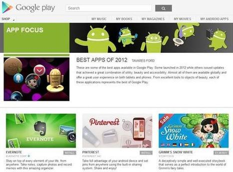 Google picks the best Android apps of 2012 - Android - News - HEXUS.net | Salasar Software | Scoop.it