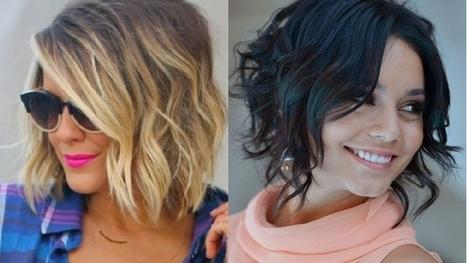 Een levendige bob in je korte haar? Laat je inspireren door deze 13  volumineuze bob kapsels!   Kapsels voor vrouwen   Scoop.it