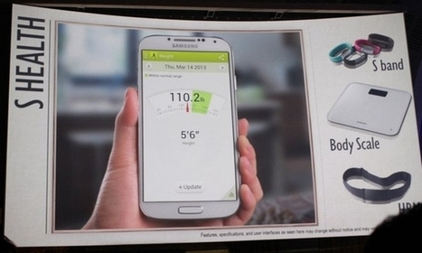 Latest Samsung Smartphone Adds Health Functions | Phadagency | Scoop.it