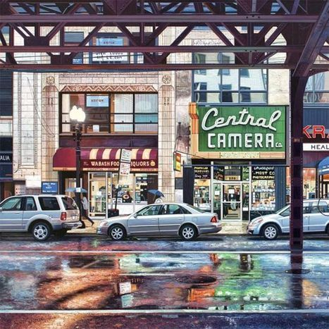 Nathan Walsh's Photo-Realistic Paintings of Urban Landscapes | Oddity Central - Collecting Oddities | Strange and Unusual | Scoop.it