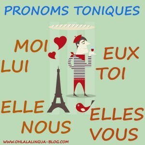Pronoms toniques | Remue-méninges FLE | Scoop.it
