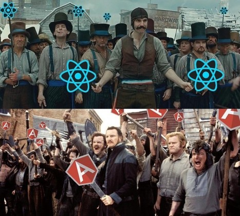 Angular 2 versus React: There Will Be Blood | JavaScript for Line of Business Applications | Scoop.it