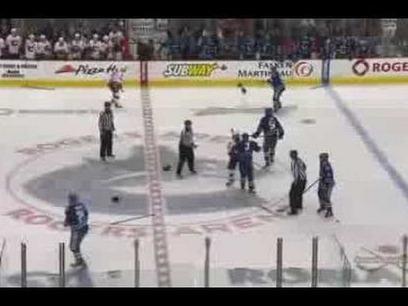 Vancouver Canucks vs Calgary Flames Line Brawl (1/18/14)   Sports   Scoop.it
