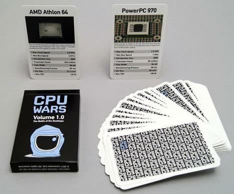 CPU Top Trumps Is The Ultimate Geeky Card Game   All Geeks   Scoop.it