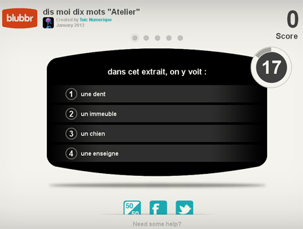 Blubbr. Proposer des quizz video a vos eleves. | ENT | Scoop.it