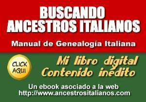 Buscando Ancestros Italianos : e-book à télécharger | Généal'italie | Scoop.it