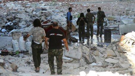 Des civils tués par des bombardements dans le nord-est de la Syrie - RTS.ch | Les kurdes | Scoop.it