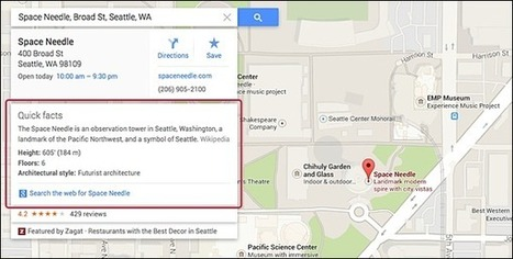 Google's Knowledge Graph Expands Into Google Maps | Intresting things around the world | Scoop.it