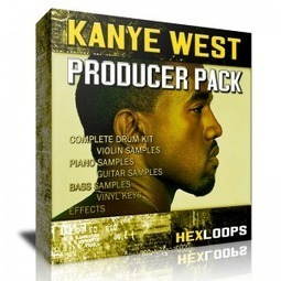 Download Kanye West Producer Drum Kit | Hex Loops | Producing | Scoop.it