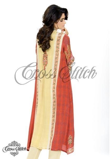 Cross Stitch Latest Eid Dresses 2013 for Women | stylostyle | Scoop.it