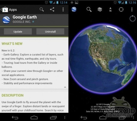 Google Earth update brings Earth gallery and social integration | OpenSource Geo & Geoweb News | Scoop.it