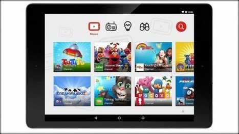 YouTube Kids App Arrives on iOS, Android | Education Zone | Scoop.it