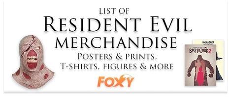 List of Resident Evil/Biohazard Merchandise | Gaming merchandise | Scoop.it