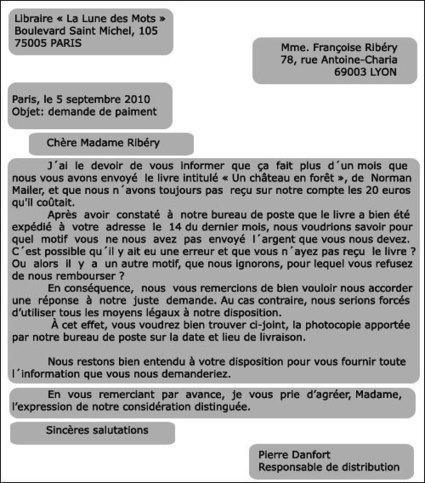 3.3. Écrire une lettre formelle | French 3 | Scoop.it
