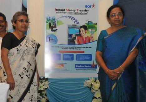 Bank of India launches instant money transfer scheme | Remittance Industry | Scoop.it