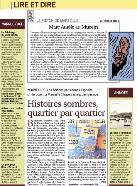 Marseille L'Hebdo | Asphalte - la revue de presse | Scoop.it