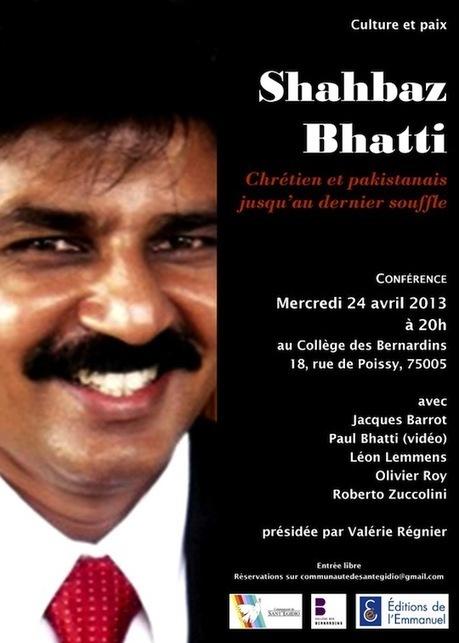 Shahbaz Bhatti : conférence exceptionnelle à Paris | egi dio | Scoop.it