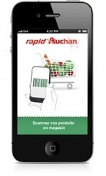 Rapid'Auchan mobile, le self scanning sur smartphone chez Auchan | ecommerce Crossmedias, Crosscanal, Omnicanal etc. | Scoop.it