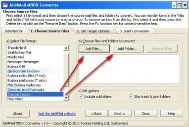 Free .mbox to .eml Email Converter: Aid4Mail MBOX Converter | Lectures web | Scoop.it