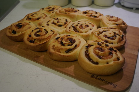 Cheddar and Red Onion Bread Swirls | BrightSpring and Delicious Food | Scoop.it