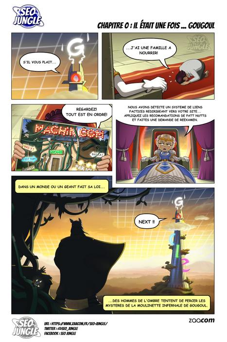 SEO Jungle : La BD qui parle du référencement web avec humour est disponible   Référencement, SEO, SEA   Scoop.it
