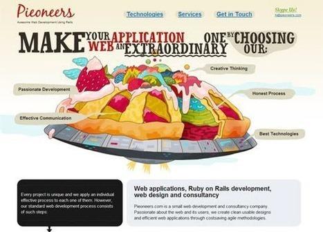 25 Awesome Creative Website Design - Website Design Ideas | Website Design Services | Scoop.it