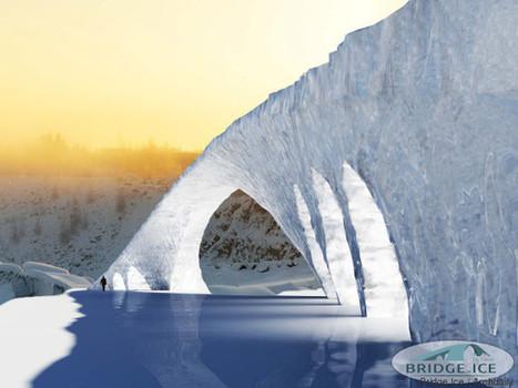Un pont de glace pour surplomber le détroit de Bosphore | Dans l'actu | Doc' ESTP | Scoop.it