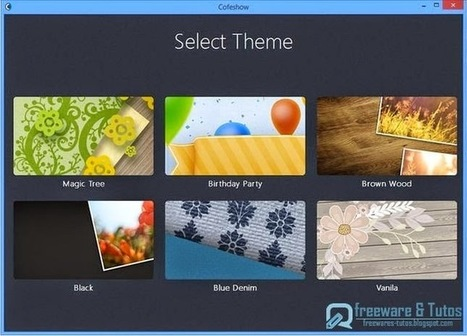 Cofeshow : un logiciel gratuit qui permet de créer facilement des diaporamas en vidéo avec musique | François MAGNAN  Formateur Consultant | Scoop.it
