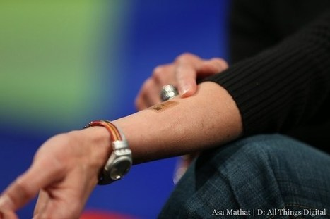 Biosensor tattoo monitors sweat to gauge physical exertion - GigaOM | tattoos | Scoop.it