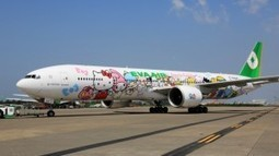 Hello Kitty themed jet arrives at LAX   Aviation News   Scoop.it