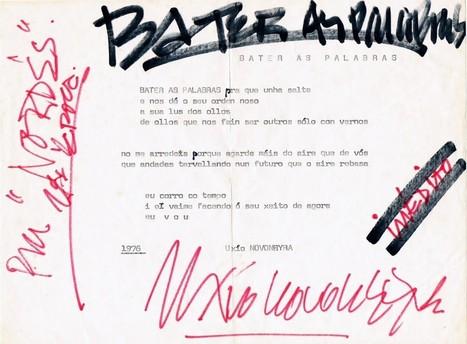 «Bater as palabras» [manuscrito: Uxío Novoneyra (VII)] | Caderno da crítica | Uxío @Novoneyra | Scoop.it