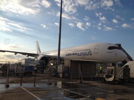 Il est 9 heures A350-900 s'éveille ! | Toulouse La Ville Rose | Scoop.it