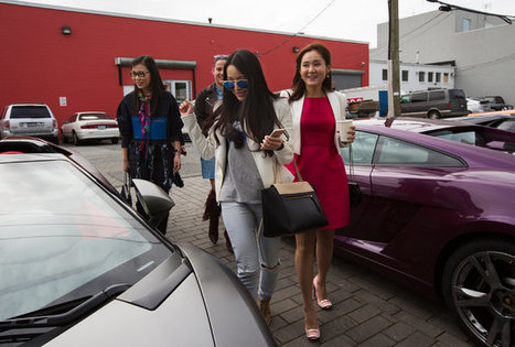 Chinese Scions' Song: My Daddy's Rich and My Lamborghini's Good-Looking | Chinese American Now | Scoop.it