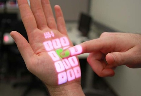 A Keyboard In the Palm of Your Hand | Current Trends to Future Trends - 1012ICT | Scoop.it