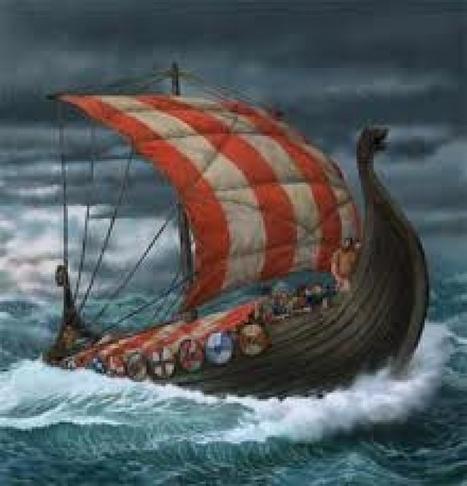 Les bateaux des Vikings | Histoire du Monde | Scoop.it