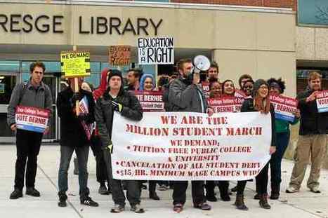 Million Student March at Oakland University demands education funding reform - The Oakland Press | Doc D's Instructional Design, Technology & Reform News | Scoop.it