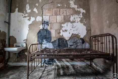 UNFRAMED #ELLISISLAND #art #pasteups #photography #installation | Luby Art | Scoop.it