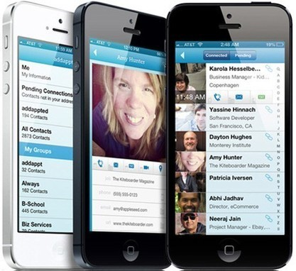 Addappt goes public, gives iOS users group contact control and ... | iPhones and iThings | Scoop.it