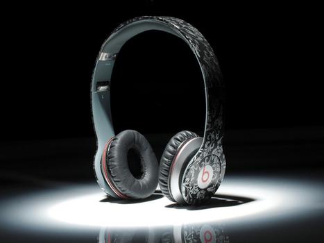 Eye-catching Monster Beats by Dr. Dre Solo Black flower vine_hellobeatsdreseller.com | Monster Beats Solo | Scoop.it