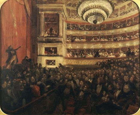 ::: BONUS ::: L'Histoire par l'image - La première d'Hernani. Avant la bataille, Albert Besnard (RMN-Grand Palais) | # HISTOIRE DES ARTS - UN JOUR, UNE OEUVRE - 2013 | Scoop.it