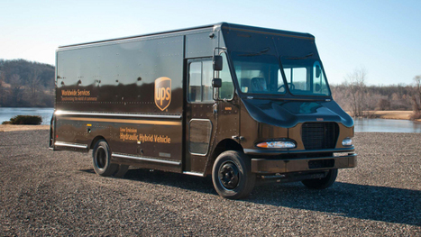 UPS Rolls Out Hydraulic Hybrid Delivery Vehicles  - Earth911.com | hydraulic hybrid | Scoop.it